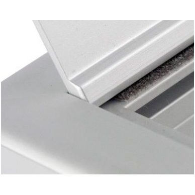 "Aliuminio dangtelis \FORRO\"" 276x120x25,5 mm"" 3"