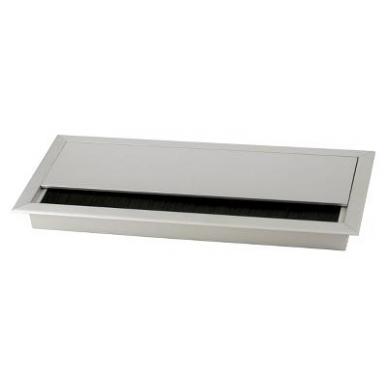 "Aliuminio dangtelis \FORRO\"" 276x120x25,5 mm"""