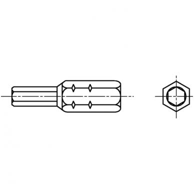 Antgalis konformatui 4mm 2