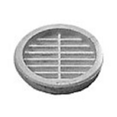 Apvalios ventiliacinės grotelės, t.rudos