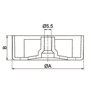 Atrama prisukama H 25 mm D 50 2