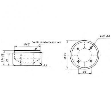 Atrama reguliuojama D.55x23 2