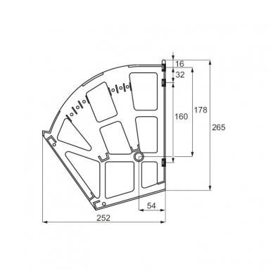 Batų dėžės mechanizmas, 3-jų skyrių 2