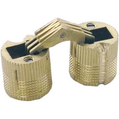 Cilindrinis lankstas D.14 mm, žalvaris