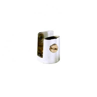 Cilindrinis lentynos laikiklis D20 mm 8-11mm stiklui