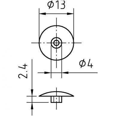 Dangtelis konfimatui 2