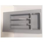 Dėklas į stalčių 35cm, pilkas