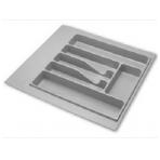 Dėklas į stalčių 50cm, pilkas