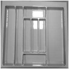 Dėklas į stalčių 100cm, pilkas