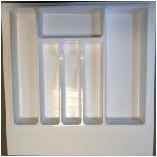 Dėklas į stalčių 55 cm, baltas
