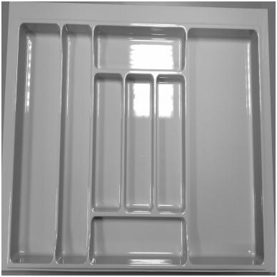 Dėklas į stalčių 90cm, pilkas