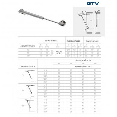 Dujinis stumoklis GTV 2