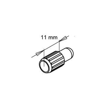 Fiksavimo kaištis D.8x11 mm 1140, gelt.cinkas, berniukas 2