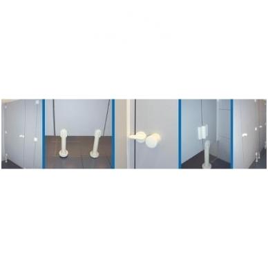 Furnitūra tualeto kabinai 2