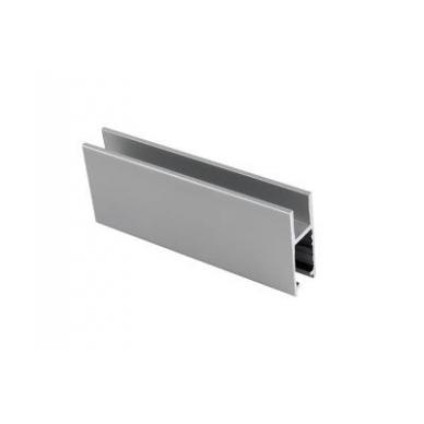 H-tipo aliuminio bėgelis sistemai 2740, 2m