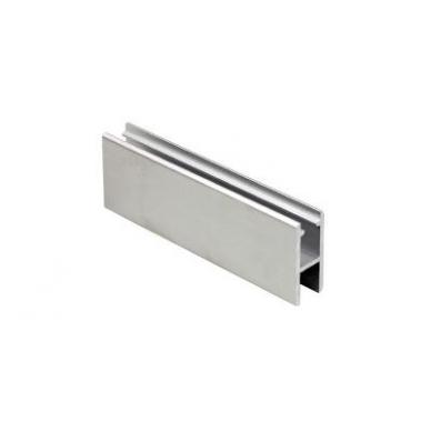 H-tipo aliuminio bėgelis stiklo sistemai 8600, 2 m