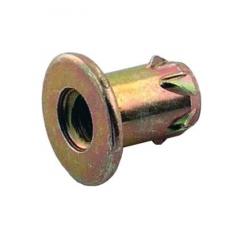 Įvorė DR-1017 M10 D.22x17 mm, geltonas cinkas