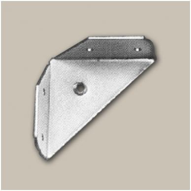 Kampas 72x32x105 mm su M8 sriegiu, cinkas