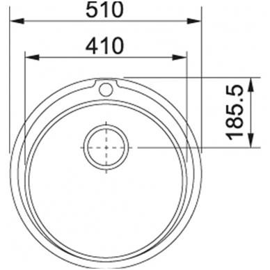Kriauklė PMN 610 2