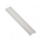 LED profilio uždengimas GLAX matinis, 3m