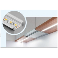 LED profilis įfrezuojamas GLAX, 3m