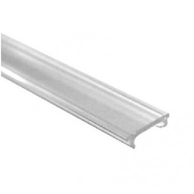 LED profilio uždengimas OLL-02, skaidrus