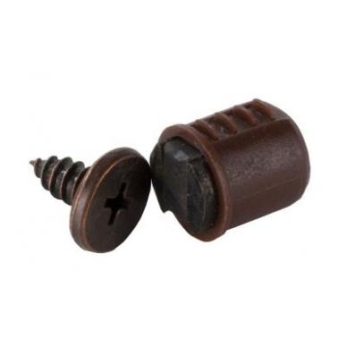 Magnetukas įkalamas 12 mm, rudas