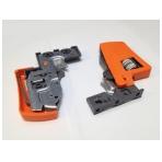 MOVENTO fiksatorius su reguliavimu (kairė+dešinė), oranžiniai