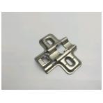 Plokštelė lankstui su integr.slopintuvu FGV, 4 mm