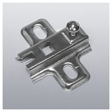 Plokštelė, 107' FGV lankstui, galimas ir stabdis, 2mm