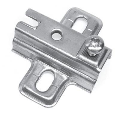 Plokštelė lankstui su integr.slopintuvu FGV, 2 mm