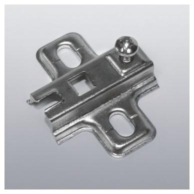 Plokštelė nik. 6 mm slide-on FGV lankstams