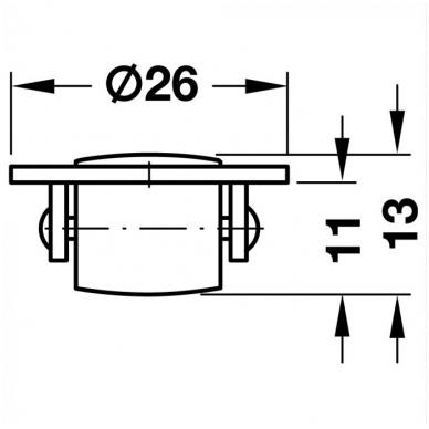 Posūkio mechanizmo ratukas 2
