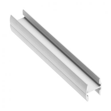 Profilis HR 10/ 4 mm L-4,05 m, anod.aliuminis