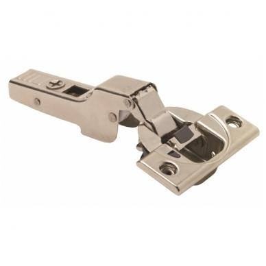 Pusinis BLUM lankstas su integruotu slopintuvu+ CLIP plokštelė 0 mm