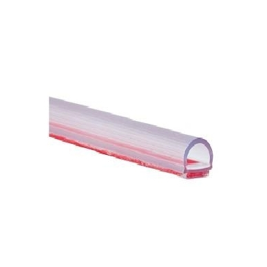 PVC tarpinė stiklas/ grindys L-2,5 m 8-12 mm stiklui