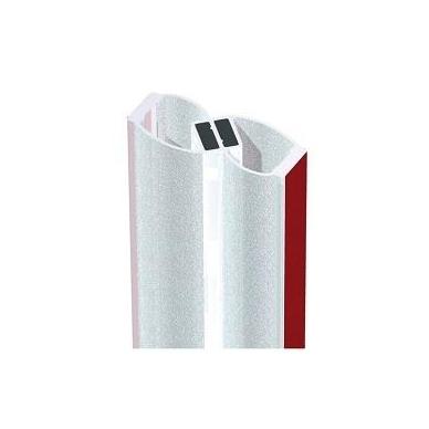 PVC tarpinė stiklas/ stiklas su magnetu 180' 8-12 mm stiklui, ADH07