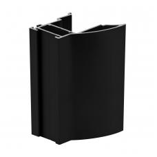 Rankena NOVO S 18 mm L-2,7m, balta/juoda