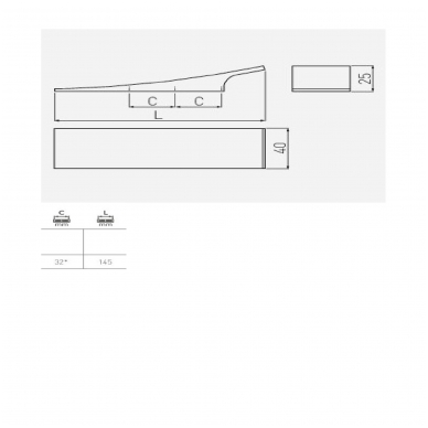 Rankenėlė e804 L-64 mm, nerūd. plienas 2