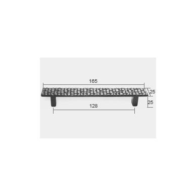 Rankenėlė ETNA 128 mm, chromas 2
