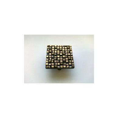 Rankenėlė ETNA 50x50mm, cc.32 mm, sendinta bronza