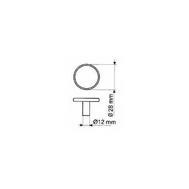 Rankenėlė GR 0905, sendintas žalvaris 2