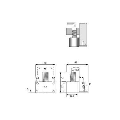 Reguliuojama kojelė D.20, 42mm 2