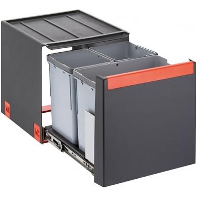 Šiukšliadėžė  FRANKE Cube 40 automat. atidarymas