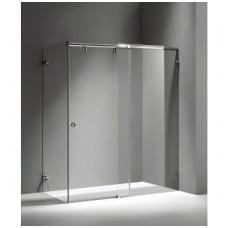 """Slenkanti durų sistema dušo kabinai \""""COSMOS\"""" 2,1 m, pol. aliuminis"""