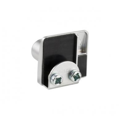Spynelė dviguboms stiklo durelėms SQUARE vienodu raktu, aliuminis 2