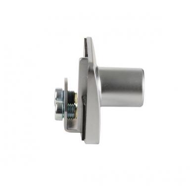 Spynelė dviguboms stiklo durelėms SQUARE vienodu raktu, aliuminis 3
