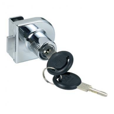 Spynelė stiklui 918 vienodais raktais vienguboms durims, chromas