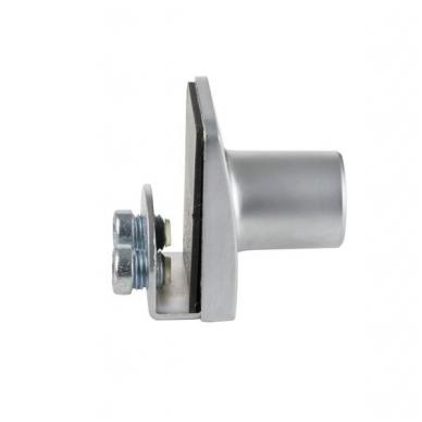 Spynelė vienguboms stiklo durelėms SQUARE vienodu raktu, aliuminis 3