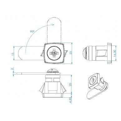 Spynelė X-44/X metalui 4